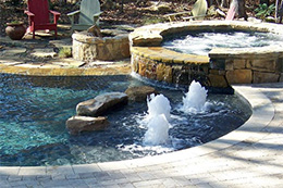 Pool Water Features Raleigh