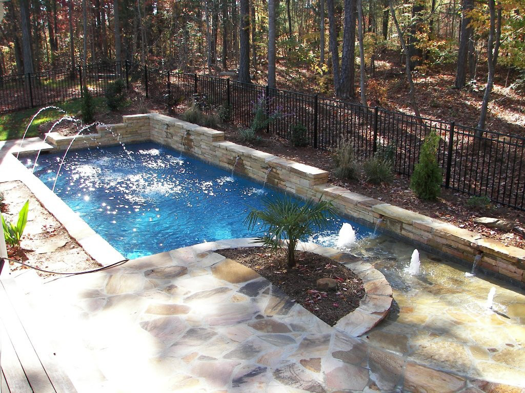 Showcase swimming pool contractor raleigh durham cary for Pool showcase